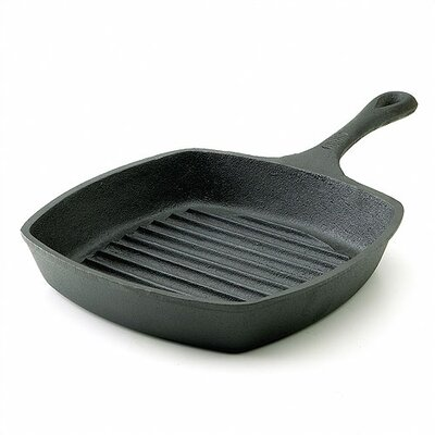"Emerilware by All Clad Cast Iron 10"" Square Grill Pan"