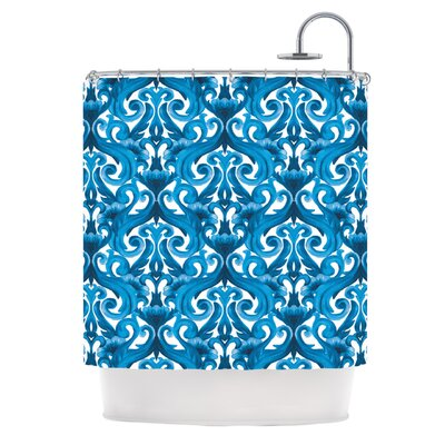 KESS InHouse Intertwined Polyester Shower Curtain