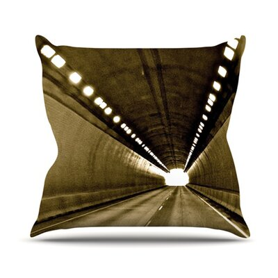 KESS InHouse Tunnel Throw Pillow