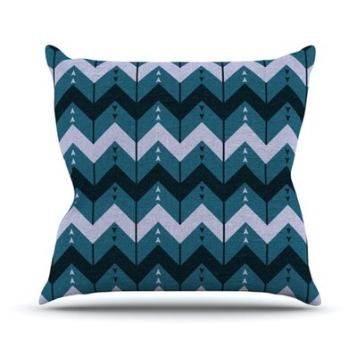 KESS InHouse Chevron Dance Throw Pillow