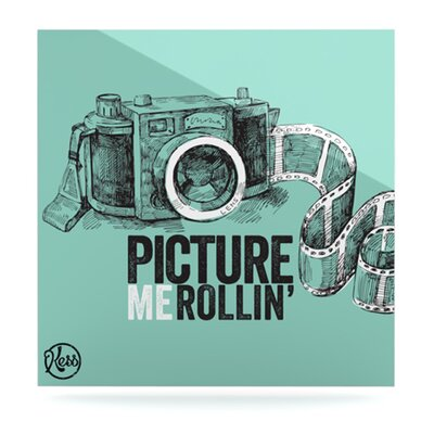 KESS InHouse Picture Me Rollin Floating Art Panel