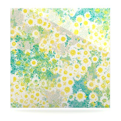 KESS InHouse Myatts Meadow Floating Art Panel