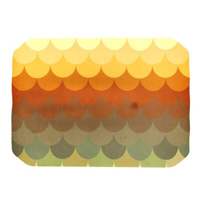 KESS InHouse Half Circles Waves Placemat