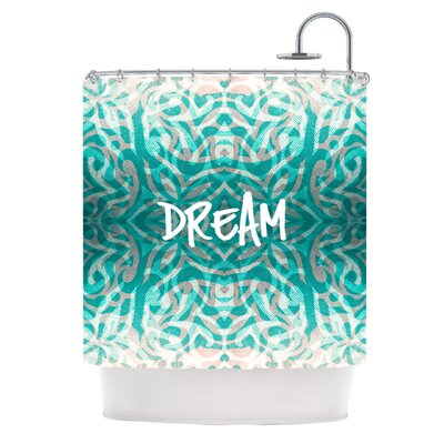 KESS InHouse Tattooed Dreams Polyester Shower Curtain