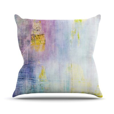 Color Grunge Throw Pillow