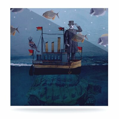 KESS InHouse The Voyage Floating Art Panel