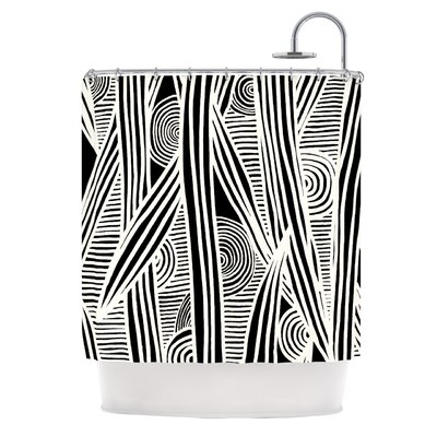 KESS InHouse Graphique Polyester Shower Curtain