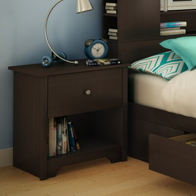 South Shore Vito 1 Drawer Nightstand