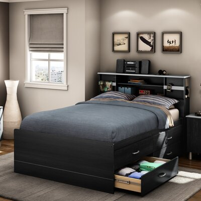 South Shore Cosmos Full Storage Platform Bed