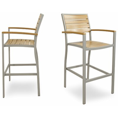 Ivy Terrace Ivy Terrace Bar Arm Chair (Set of 2)