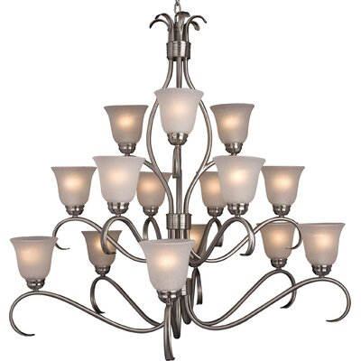 Maxim Lighting Basix 15 Light Chandelier