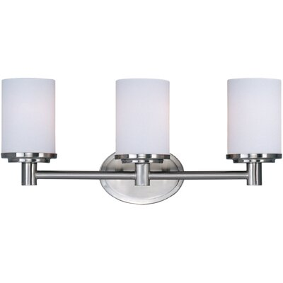 Maxim Lighting Cylinder Three Light Bath Vanity