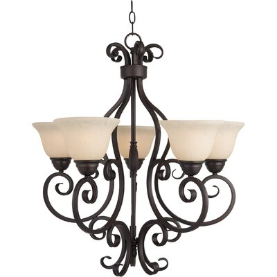 Maxim Lighting Manor 5 Light Up Chandelier