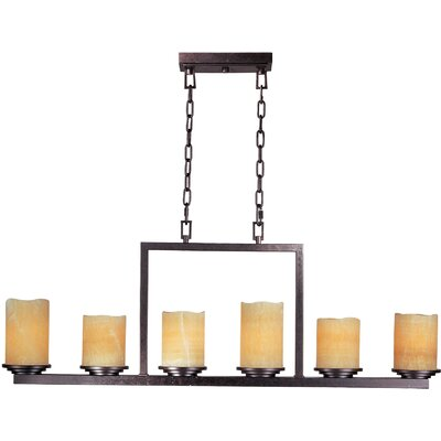 Maxim Lighting Luminous 6 Light Chandelier