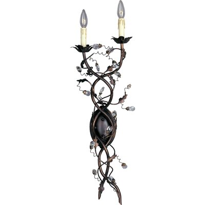 Maxim Lighting Elegante Candle Wallchiere