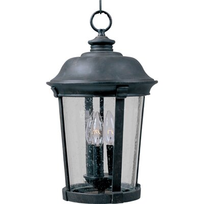 Maxim Lighting Dover DC Outdoor Hanging Lantern in Bronze
