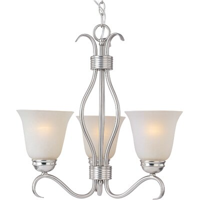Maxim Lighting Basix Ee 3 Light Mini Chandelier
