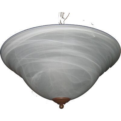 Maxim Lighting Foothills Forge 2 Light Invert Bowl Inverted Pendant