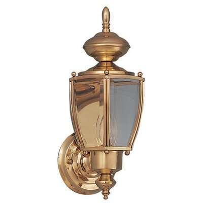 Maxim Lighting Builder Brass  Outdoor Wall Lantern