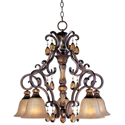 Maxim Lighting Dresden 5 Light Chandelier