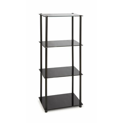 Midnight 4 Tier Tower in Black