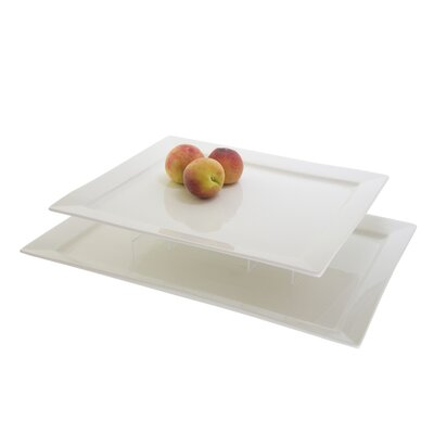 "Ten Strawberry Street 15"" Rectangular Serving Platter"