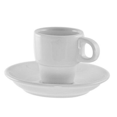 Ten Strawberry Street Bistro Demi Cup and Saucer