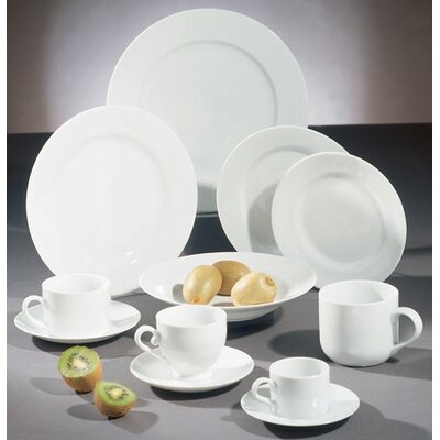 Ten Strawberry Street Royal White Dinnerware Set