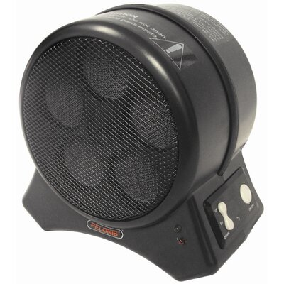Pelonis Pelonis 1,500 Watt Ceramic Compact Space Heater with Electronic Control