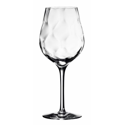 Orrefors Dizzy Diamond Goblet Glass