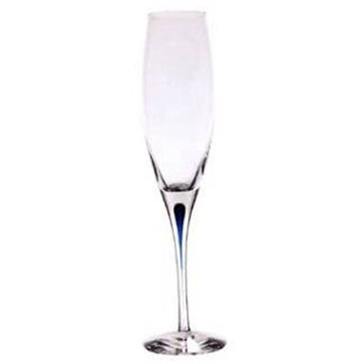 Orrefors Intermezzo Blue 3 oz. Flute Glass