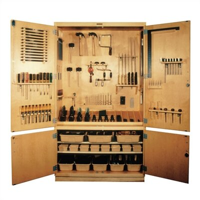 Shain Small Woodworking Tool Storage Cabinet