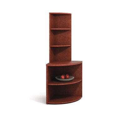 "ABCO 29"" H Two Shelf Corner Bookcase"