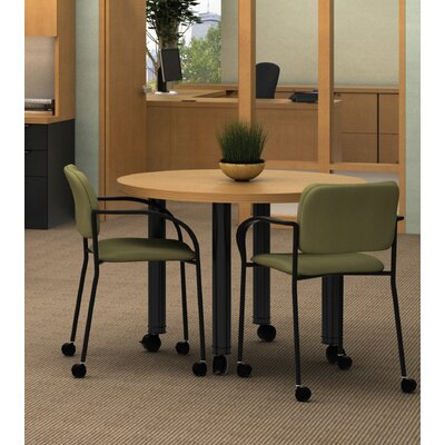 "ABCO Unity Executive Series Round Table, 42"" diameter"