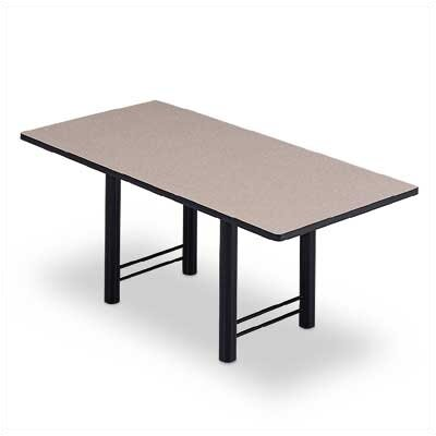 ABCO 72&quot; Wide Rectangle Top Conference Table with H Base