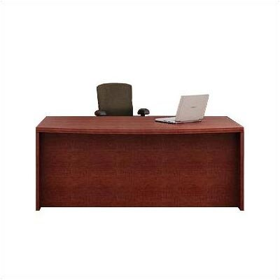 ABCO Unity Arc Full Left Pedestal Executive Desk with 3 Drawers