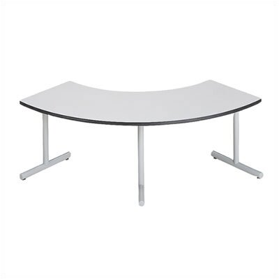 "ABCO Smart Tables: 24"" x 48"" High-Pressure Laminate Arc Conference Table"