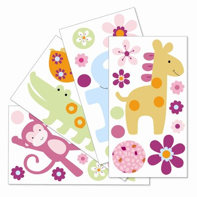 Lambs & Ivy Lollipop Jungle Wall Appliques