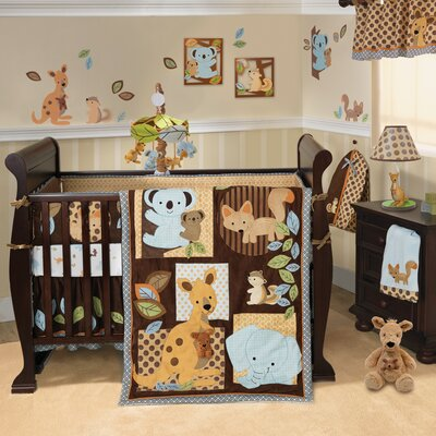 Animal Antics Crib Bedding Collection