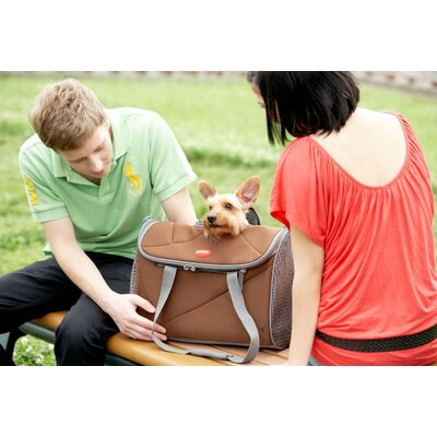 Teafco Argo Pet Avion Medium Airline Approved Carrier in Chocolate Brown