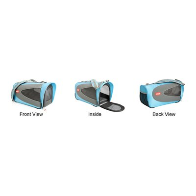 Teafco Argo Petascope Pet Carrier in Blue