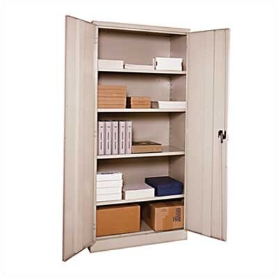 Penco E-Z Bilt Storage - KD Storage Cabinets with Recessed Handle