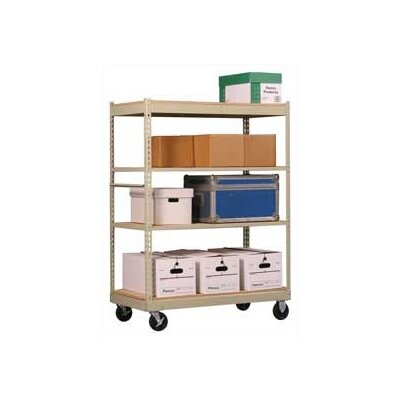 Penco Inventory Carts with Particle Board Deck