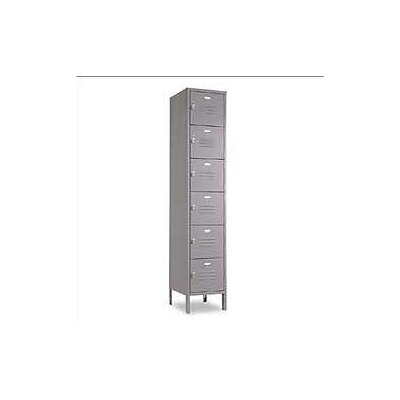 Penco Vanguard Unit Packaged Lockers - Six Tiers - 1 Section - (Assembled)
