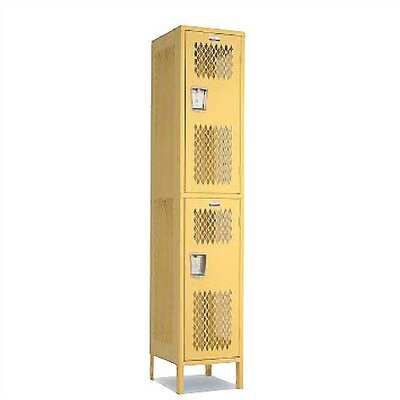 Penco Invincible II Lockers- Double Tier- 1- Section (Unassembled)
