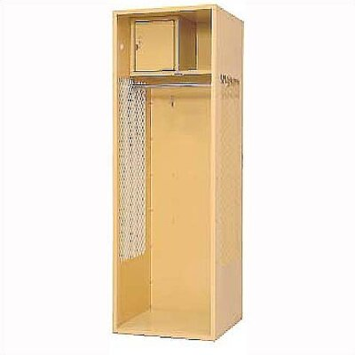 Penco Welded Stadium Locker w/ Shell, Shelf &amp; Security Box