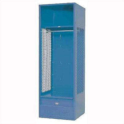 Penco KD Stadium Locker w/ Shell, Shelf, Foot Locker & Security Box