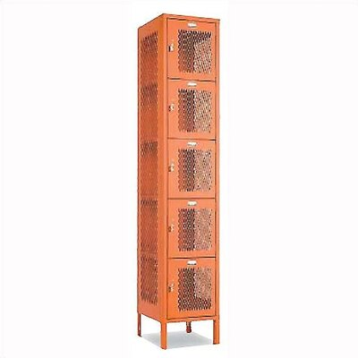 Penco Invincible II Lockers - Five Tier - 1-Section (Assembled)