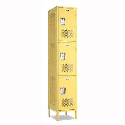 Penco Invincible II Triple Tier 1 Wide Locker (Assembled)