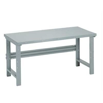 Penco Open Work Bench - Tuff Top, Composition Core, Adjustable Height